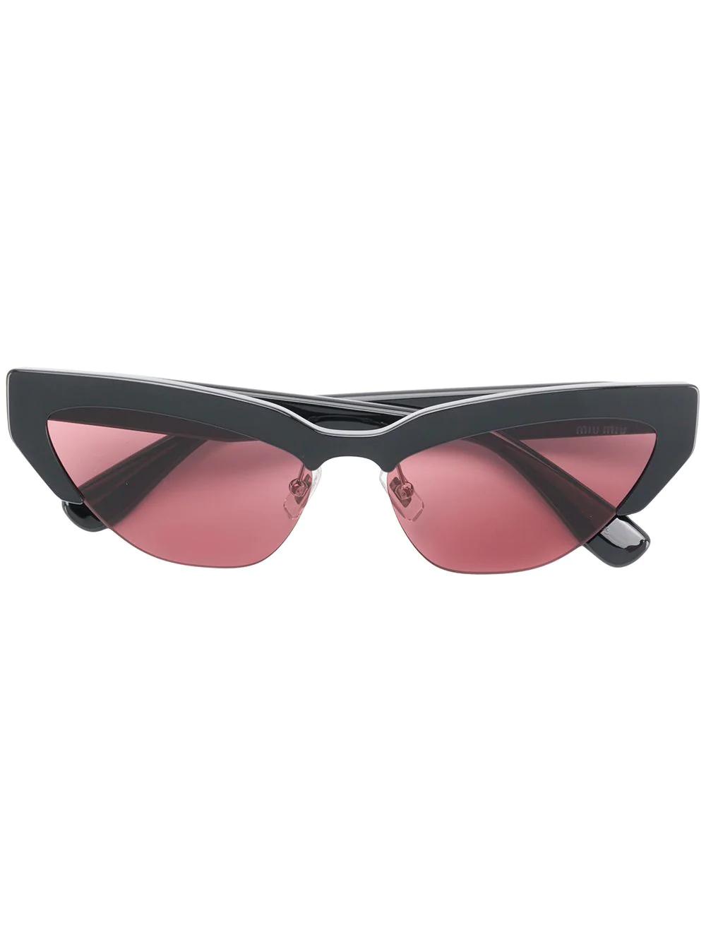 "MIU MIU | солнцезащитные очки """"кошачий глаз | Clouty"