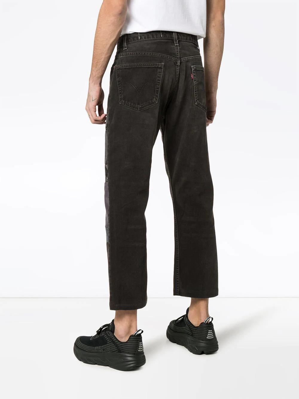 Children Of The Discordance   прямые джинсы с нашивками   Clouty