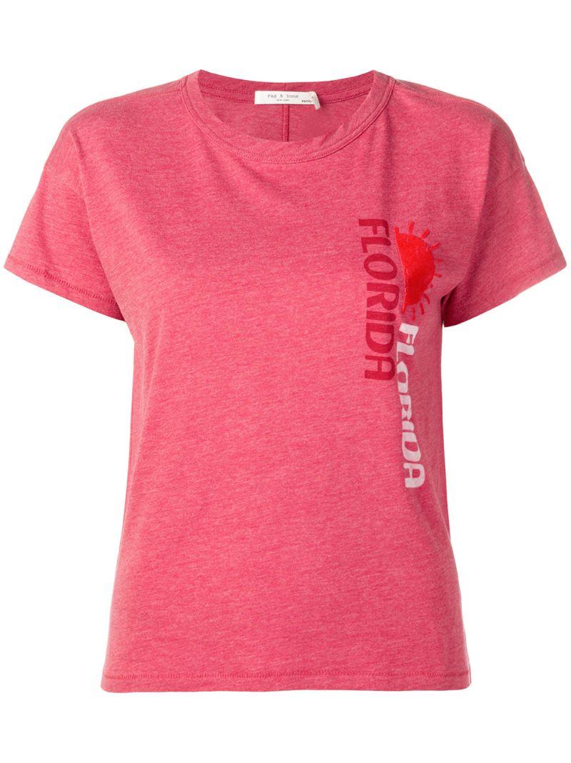 RAG & BONE | футболка с принтом 'Florida' | Clouty