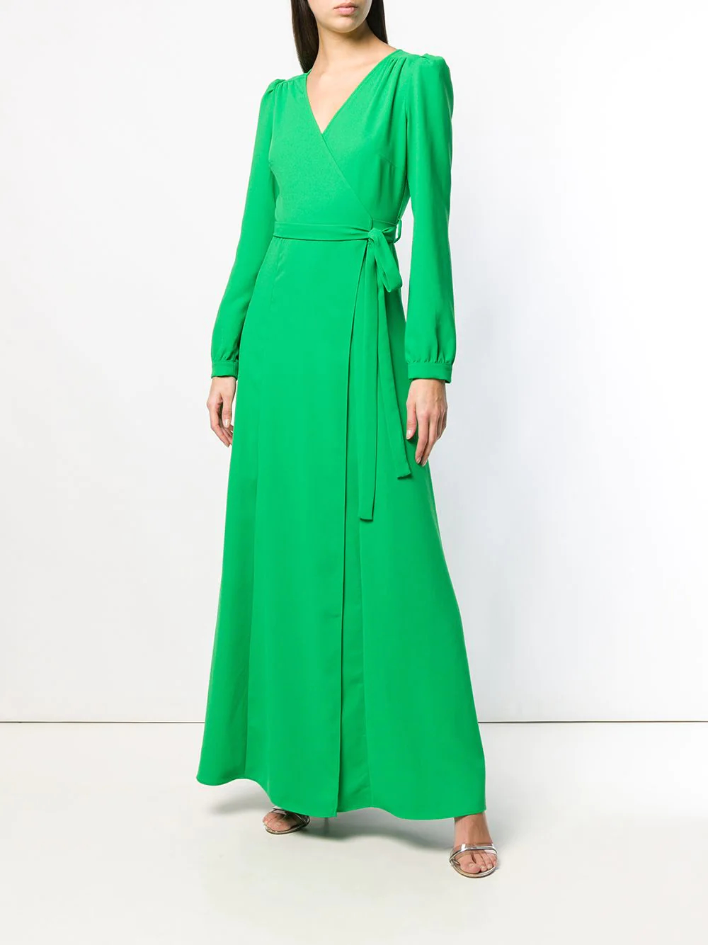 P.A.R.O.S.H. | платье-макси с запахом | Clouty