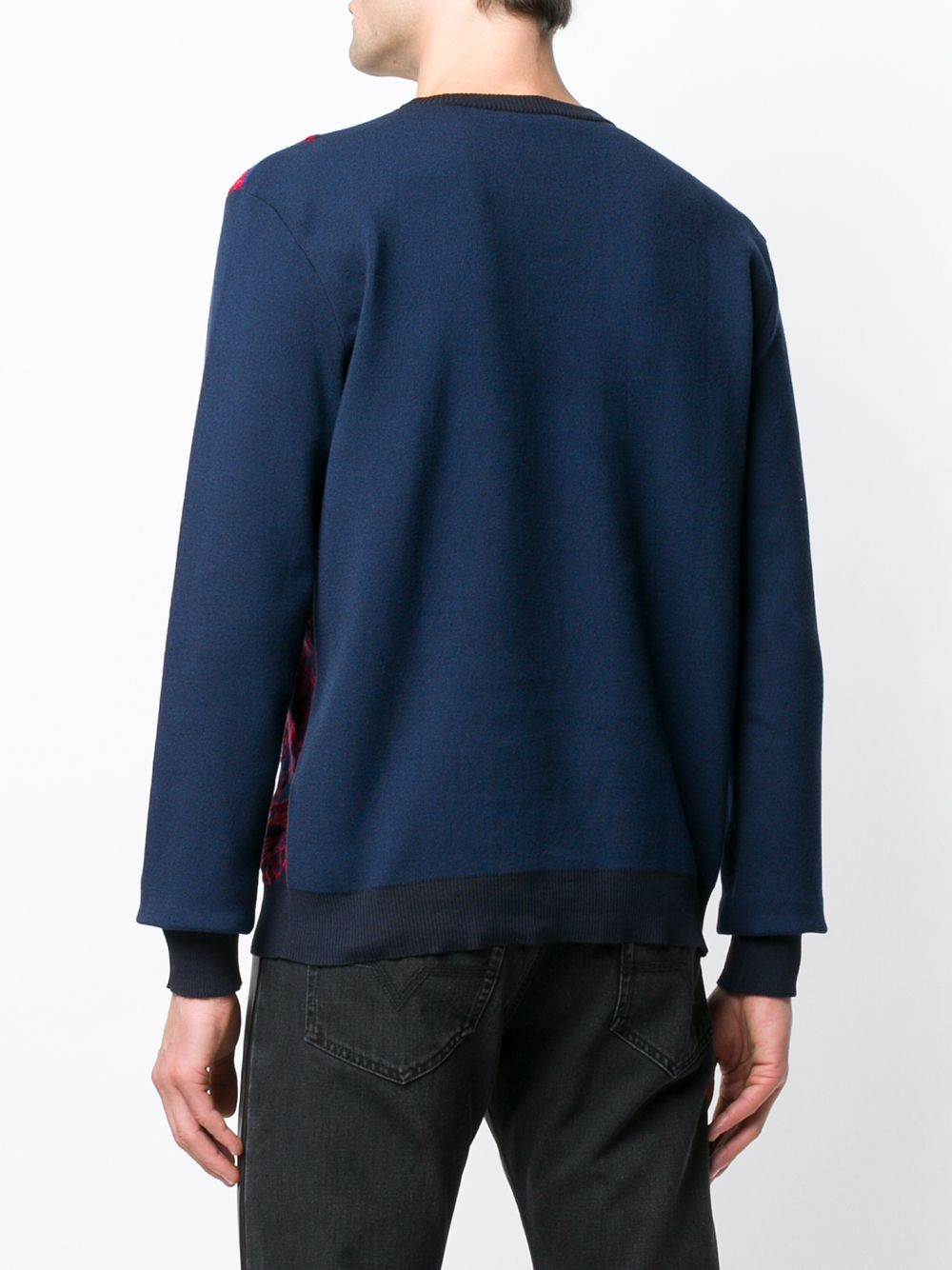 Versace | свитер жаккардовой вязки | Clouty