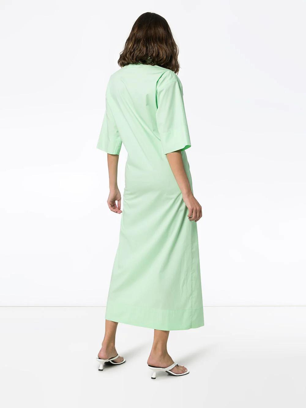 Markoo   платье-рубашка на кнопках   Clouty
