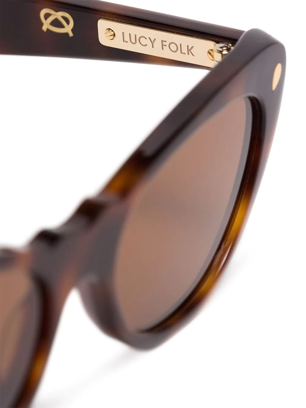 Lucy Folk   солнцезащитные очки 'Slice of Heaven' в кошачьей оправе   Clouty