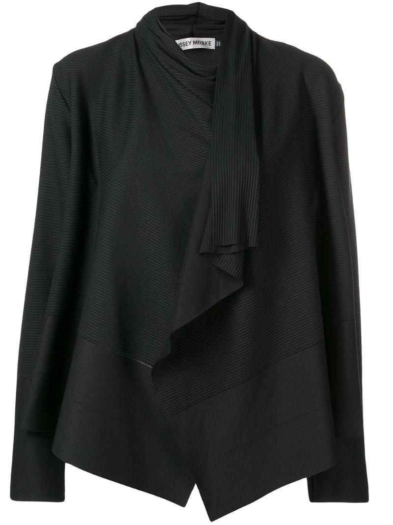 ISSEY MIYAKE   плиссированный пиджак   Clouty