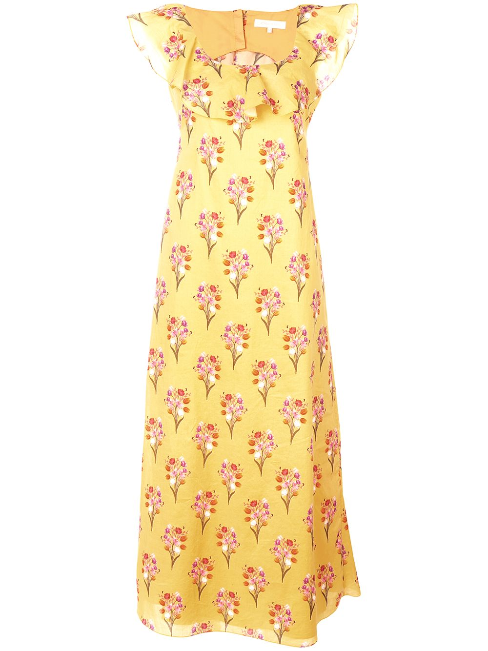 Borgo De Nor | длинное платье с цветочным принтом | Clouty