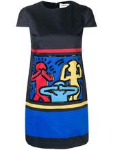 декорированное платье AO x Keith Haring