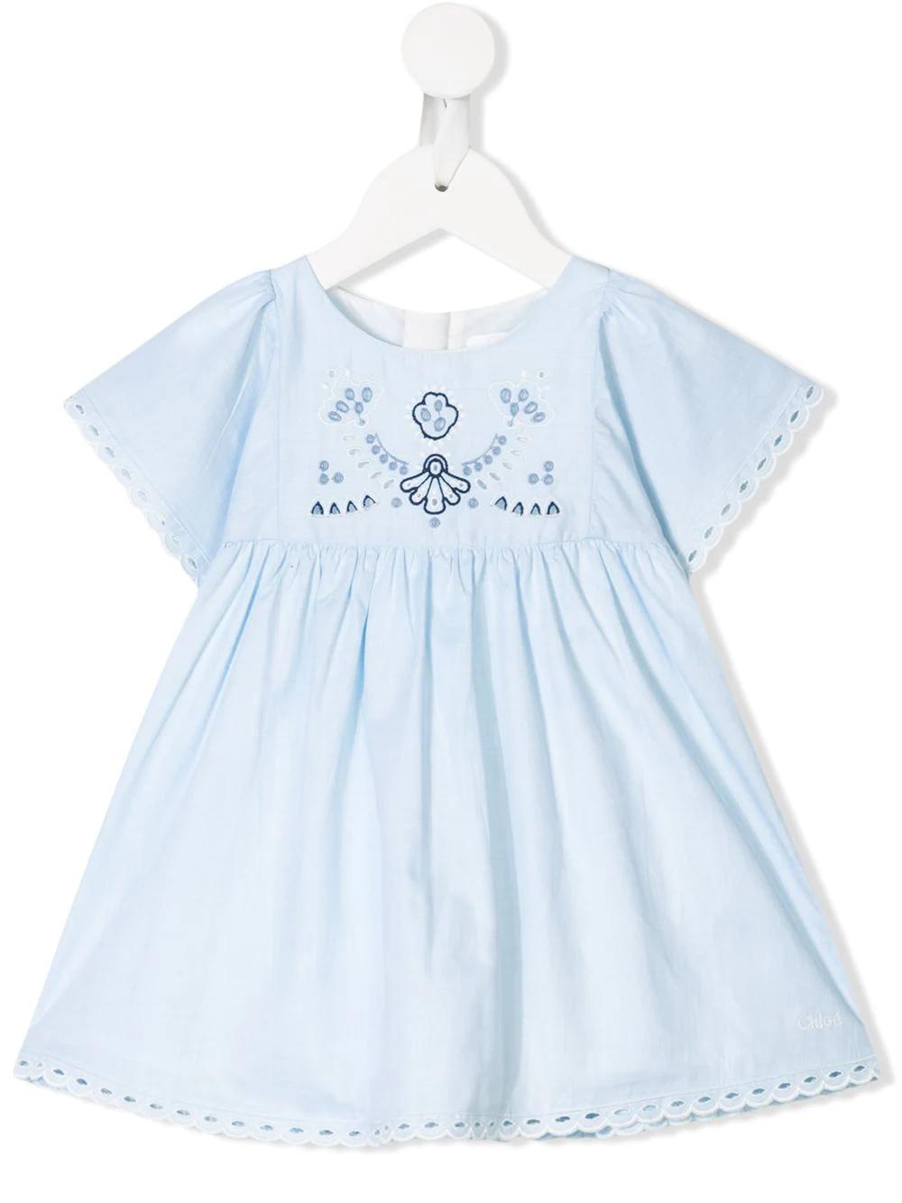Chloé Kids | платье с вышивкой | Clouty