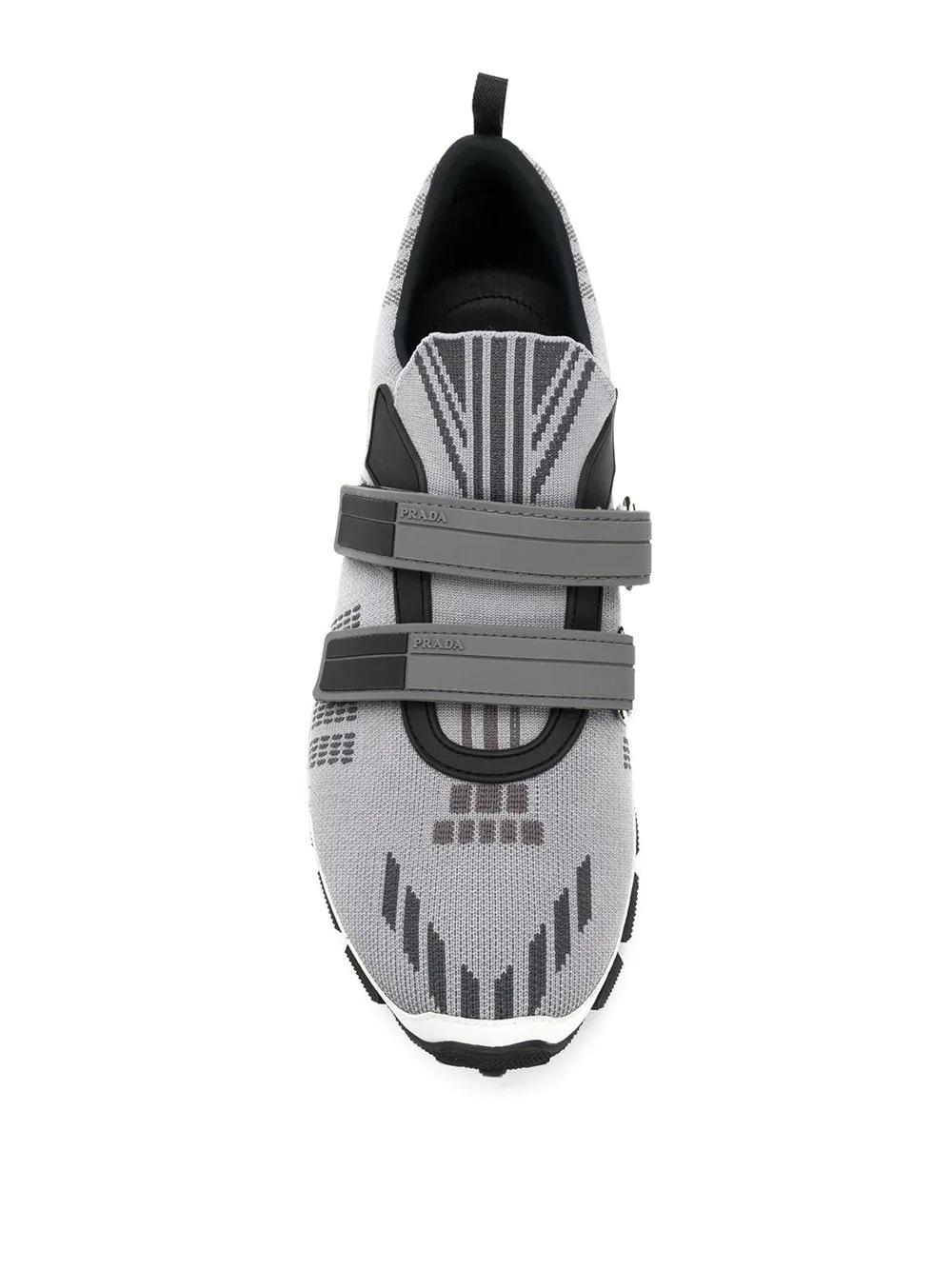 PRADA   кроссовки на липучке   Clouty