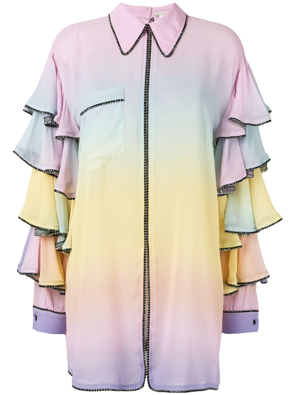 Marco De Vincenzo | рубашка оверсайз | Clouty