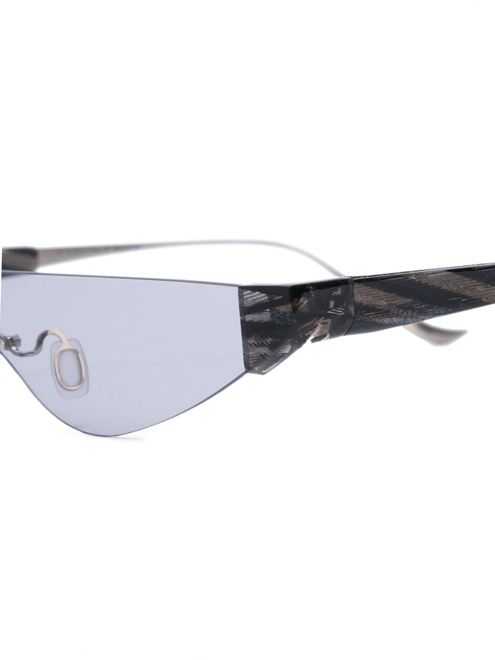 Percy Lau | Percy Lau затемненные солнцезащитные очки в оправе 'кошачий глаз' | Clouty