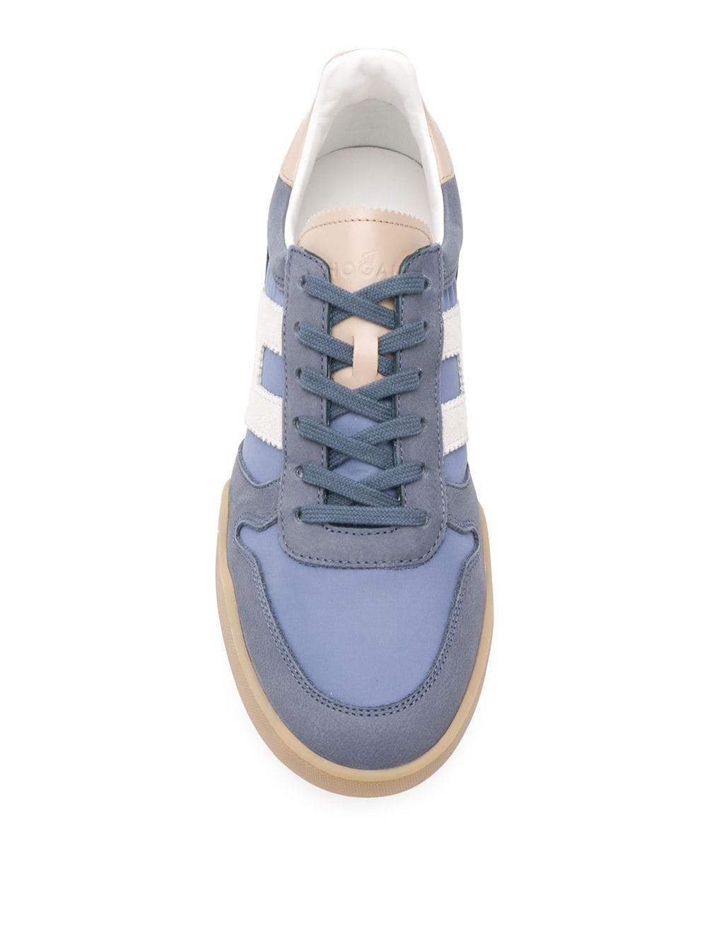 HOGAN   кроссовки на шнуровке   Clouty