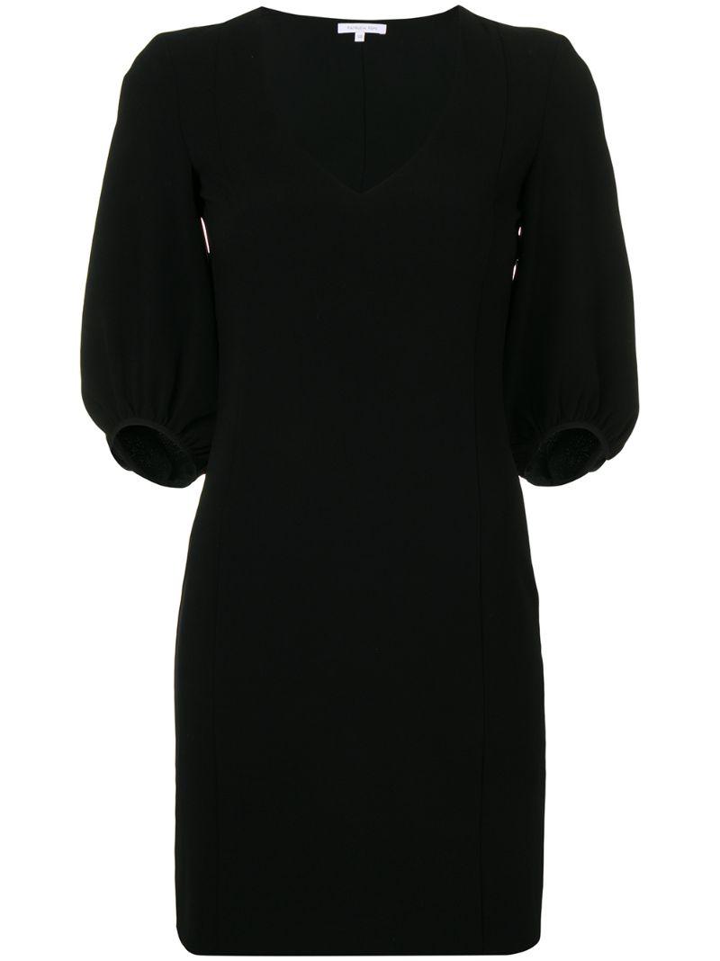 Patrizia Pepe | платье мини с V-образным вырезом | Clouty
