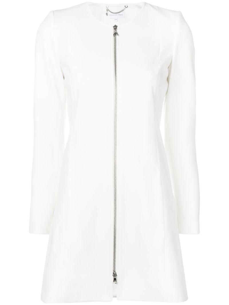Patrizia Pepe | удлиненный пиджак на молнии | Clouty