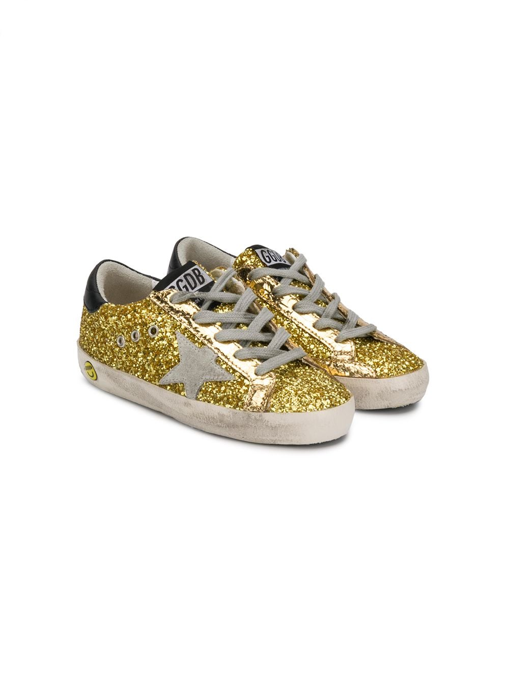 Golden Goose Deluxe Brand   кроссовки 'Superstar' с блестками   Clouty