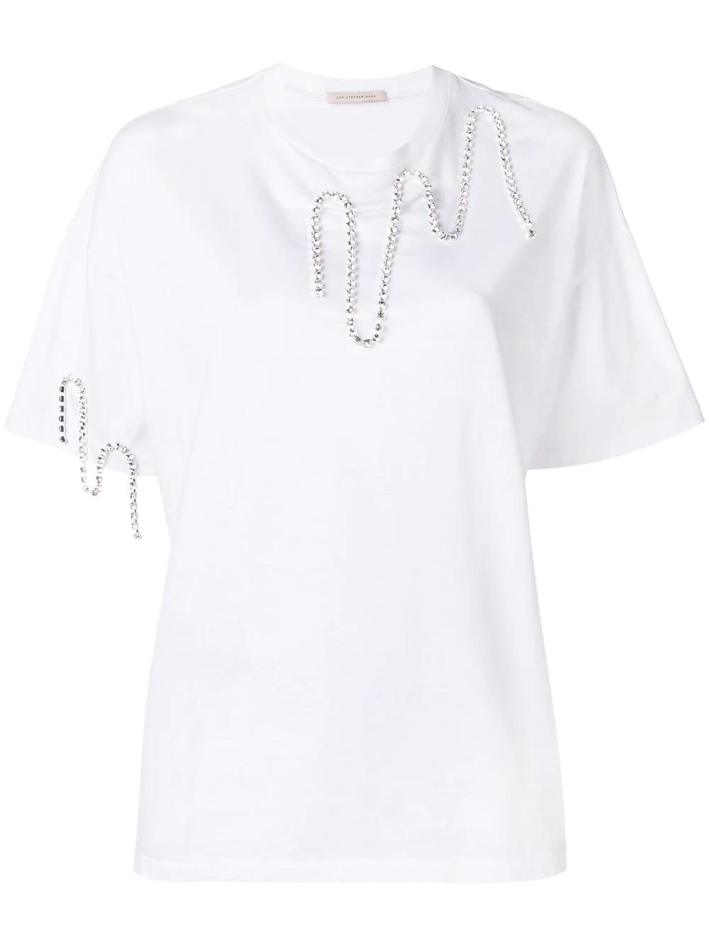 CHRISTOPHER KANE | декорированная футболка | Clouty