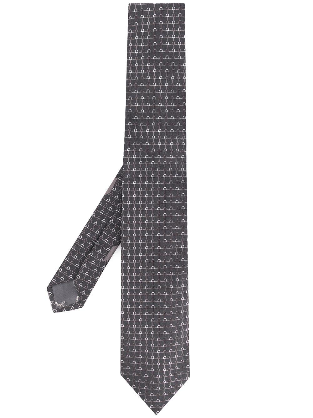 SALVATORE FERRAGAMO | галстук с узором | Clouty