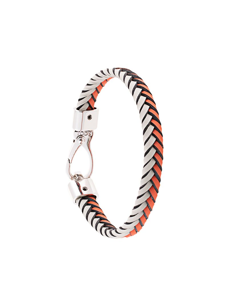 Tod's | плетеный браслет | Clouty
