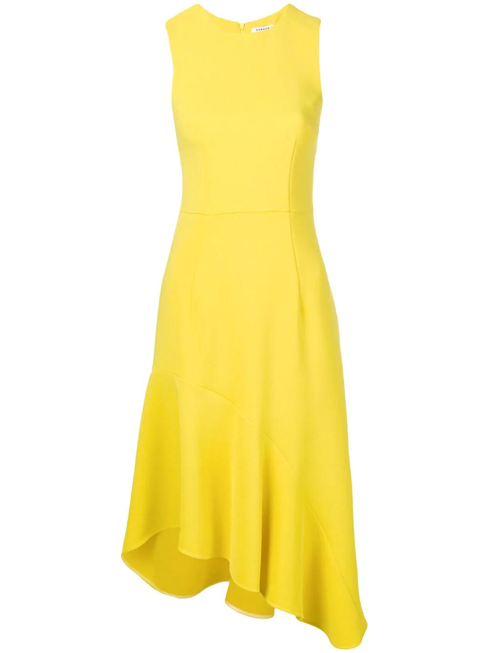 P.A.R.O.S.H.   асимметричное платье без рукавов   Clouty