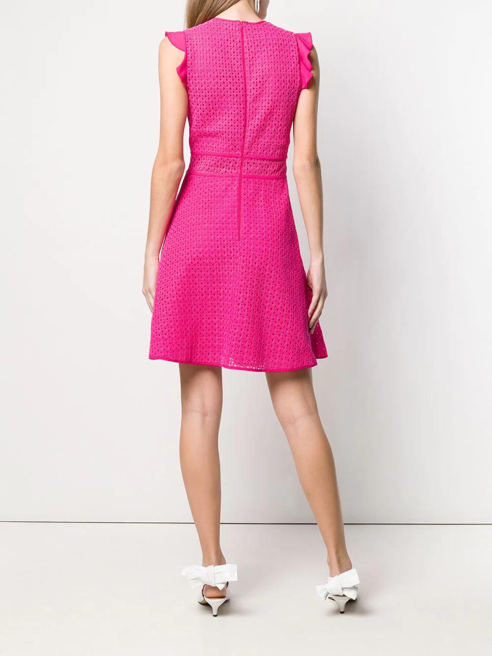 PINKO | короткое платье с вышивкой | Clouty