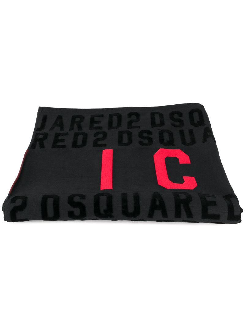 DSQUARED2 | пляжное полотенце 'Icon' | Clouty