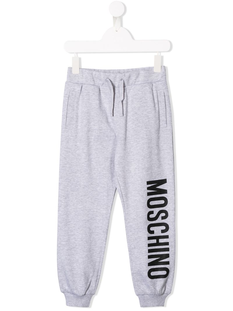 Moschino Baby | спортивные брюки с принтом логотипа | Clouty