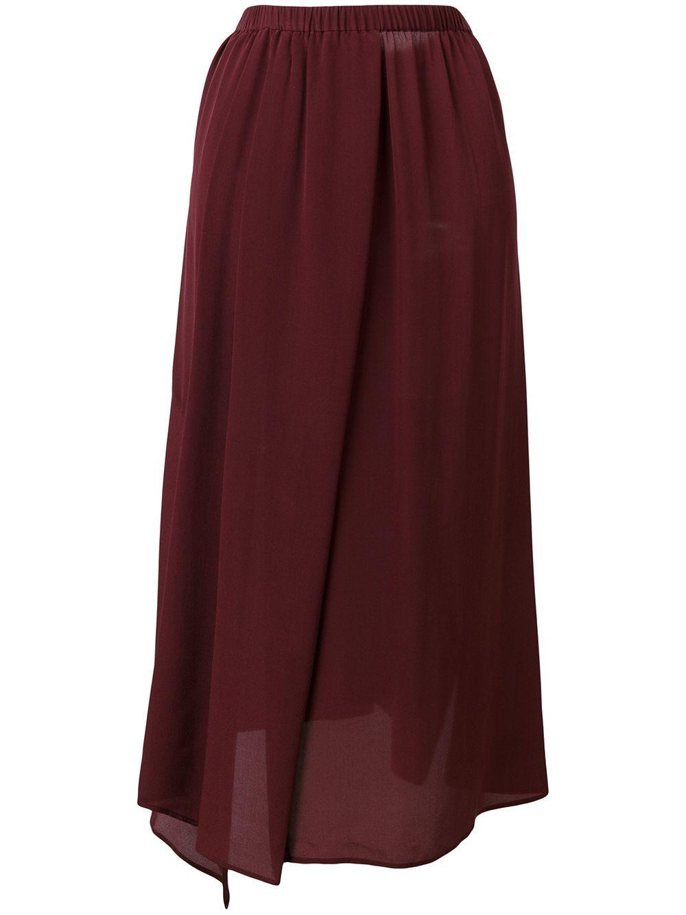 Christian Wijnants | асимметричная юбка миди | Clouty
