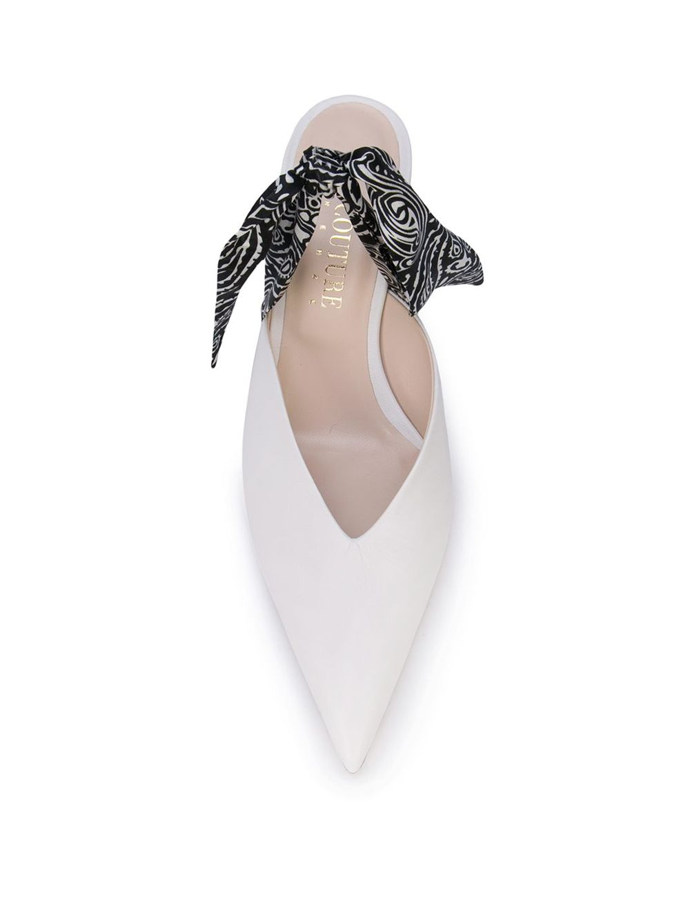 Gia Couture   мюли на низком каблуке   Clouty