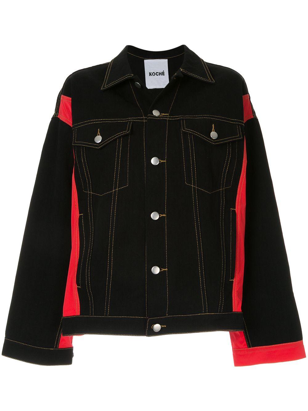 Koché | джинсовая куртка оверсайз | Clouty
