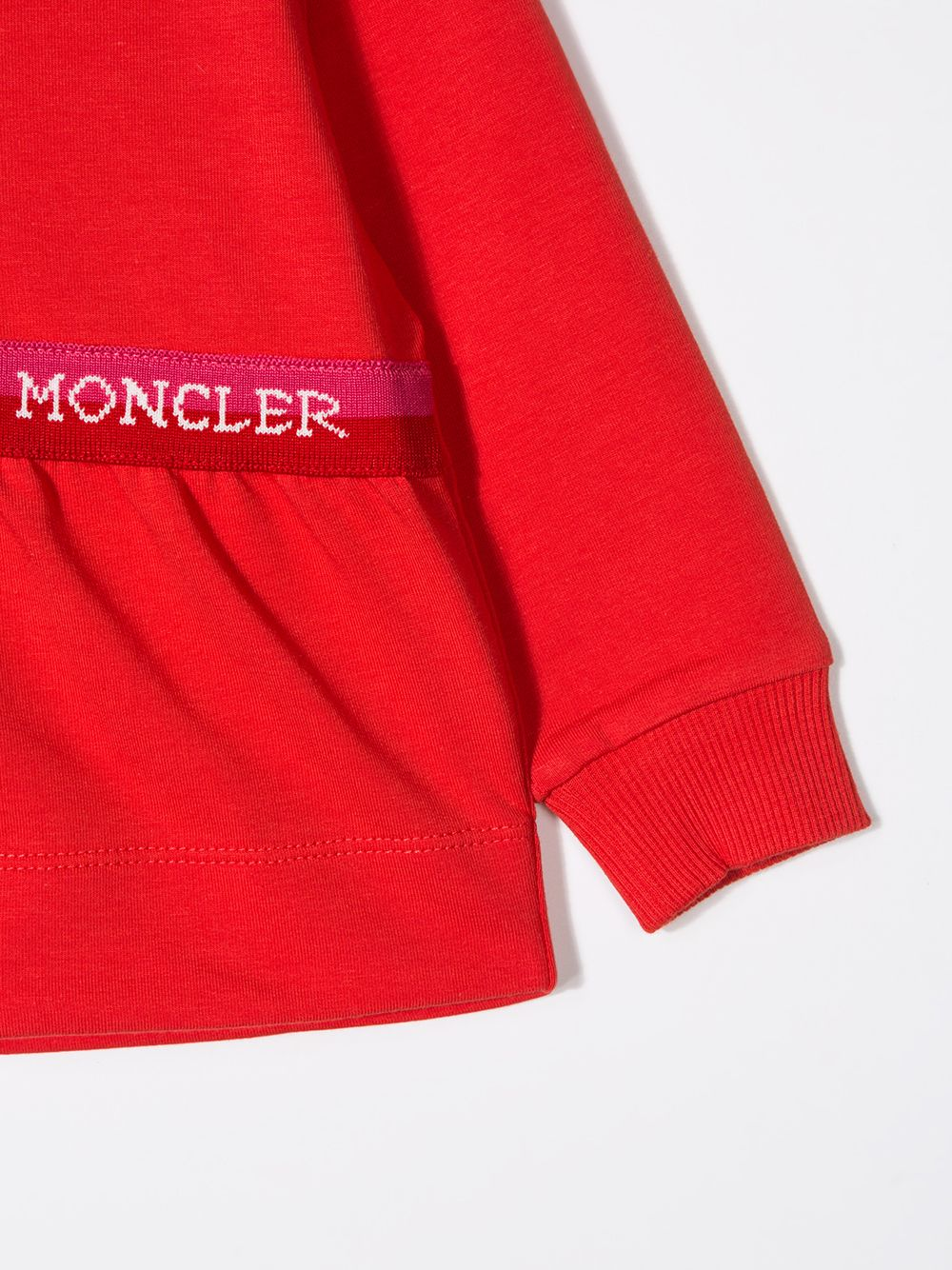 Moncler Enfant | толстовка на молнии с капюшоном | Clouty
