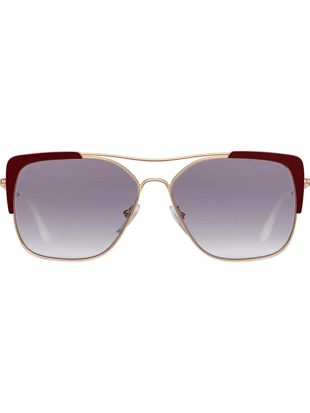 PRADA | солнцезащитные очки Eyewear Collection в квадратной оправе | Clouty