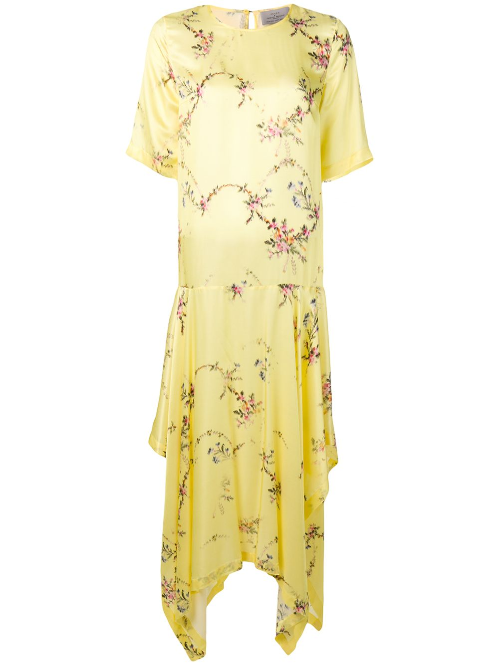 Preen By Thornton Bregazzi | асимметричное платье макси | Clouty