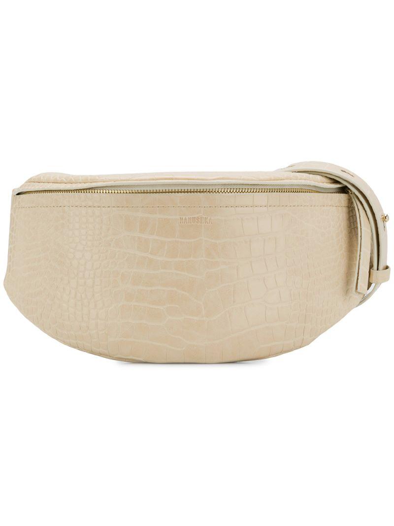 Nanushka | объемная поясная сумка 'Lubo' | Clouty