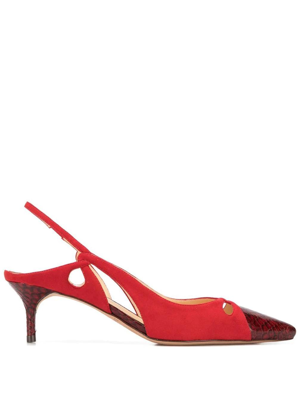 Alexandre Birman   туфли-лодочки с вырезными деталями   Clouty