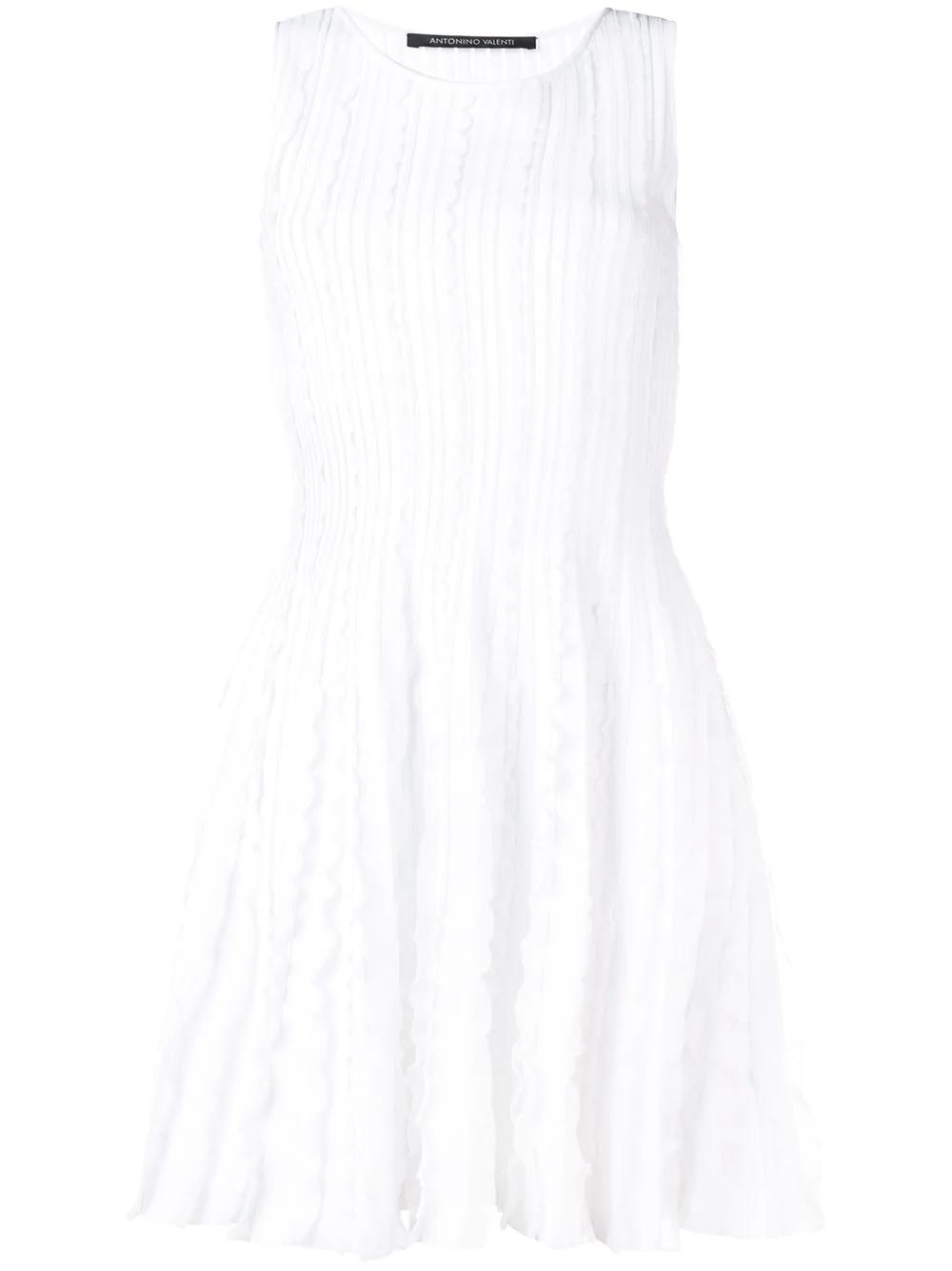 Antonino Valenti | платье миди с оборками | Clouty