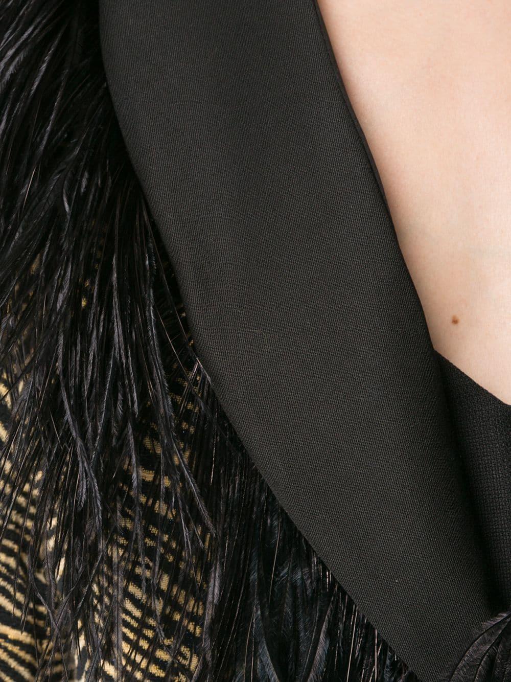 Rachel Comey | Rachel Comey приталенный жакет с зебровым принтом | Clouty