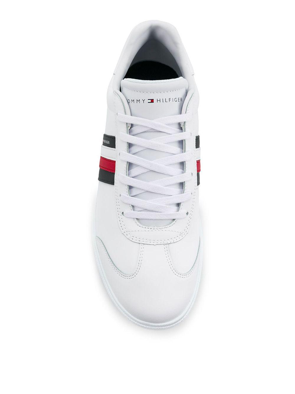 TOMMY HILFIGER | кроссовки с полосками | Clouty