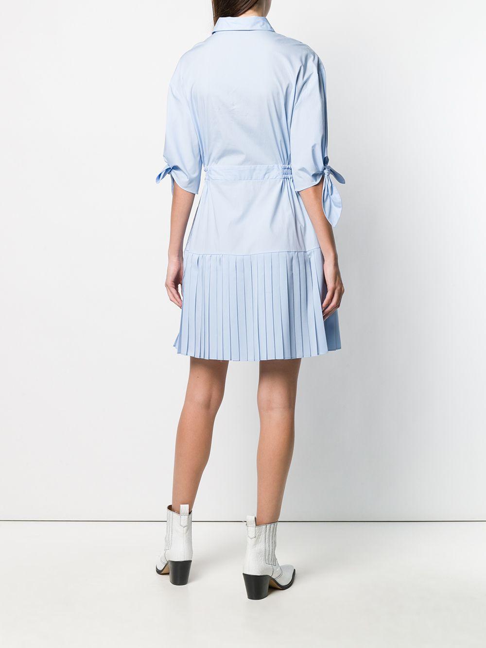 PINKO | платье-рубашка с плиссировкой | Clouty