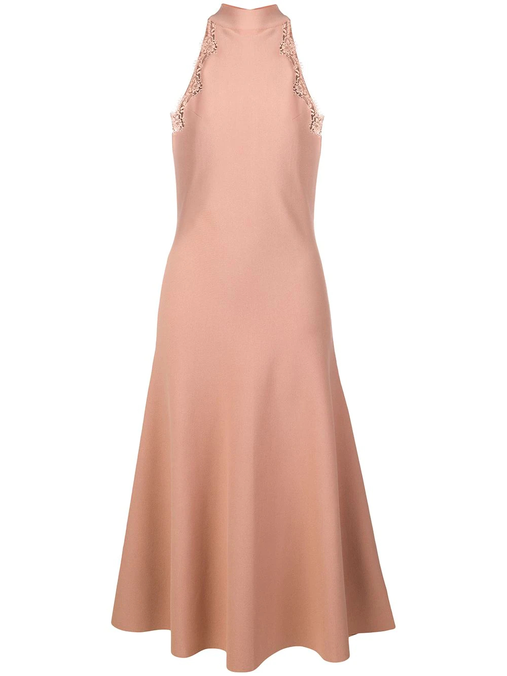 Stella McCartney | платье миди с кружевной отделкой | Clouty