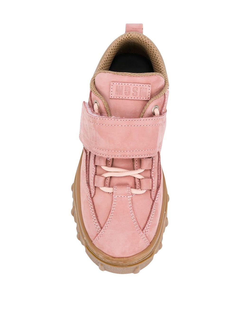 MSGM | MSGM кроссовки с полосками с логотипом | Clouty