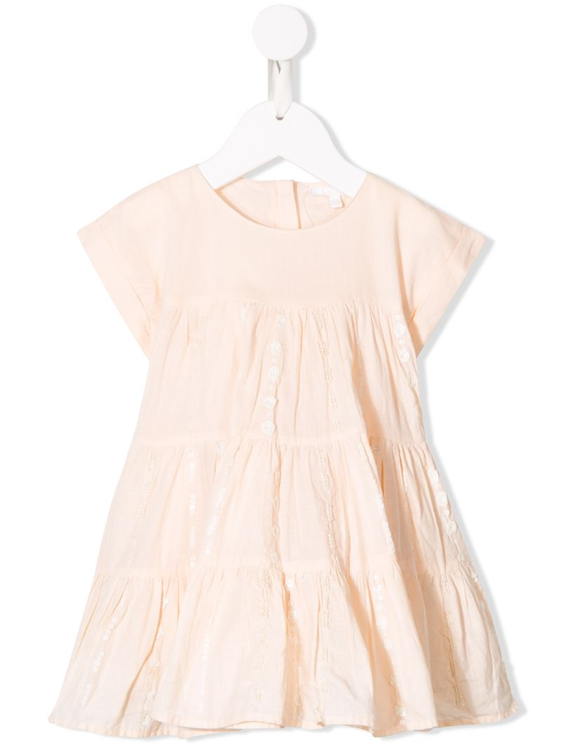 Chloé Kids   расклешенное платье   Clouty
