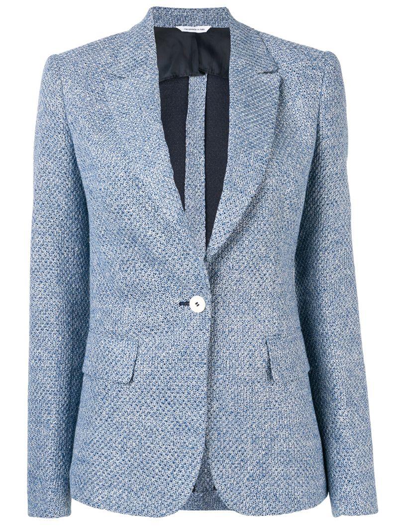 Tonello | приталенный пиджак с застежкой на пуговицу | Clouty