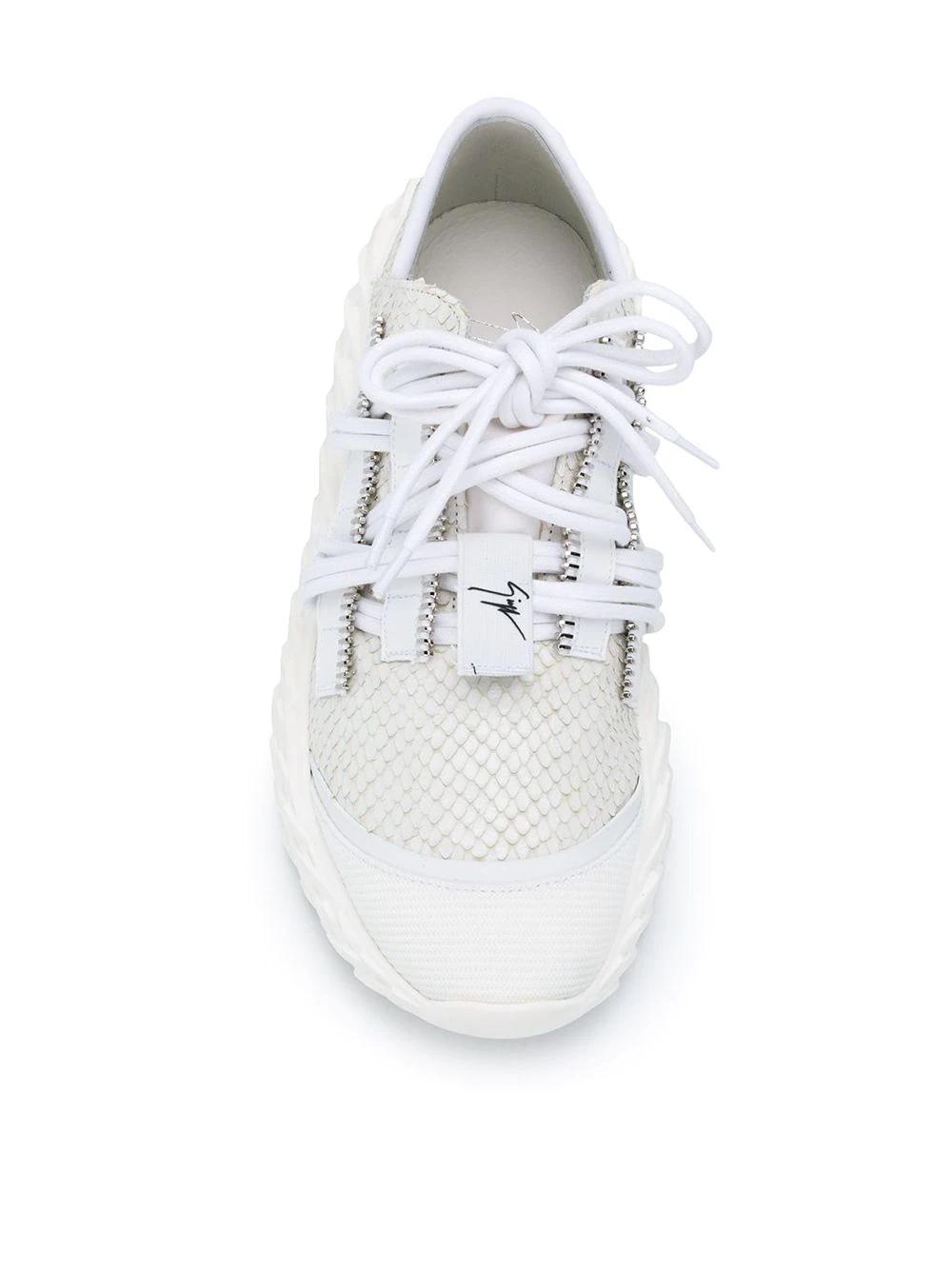 Giuseppe Zanotti   кроссовки на шнуровке   Clouty