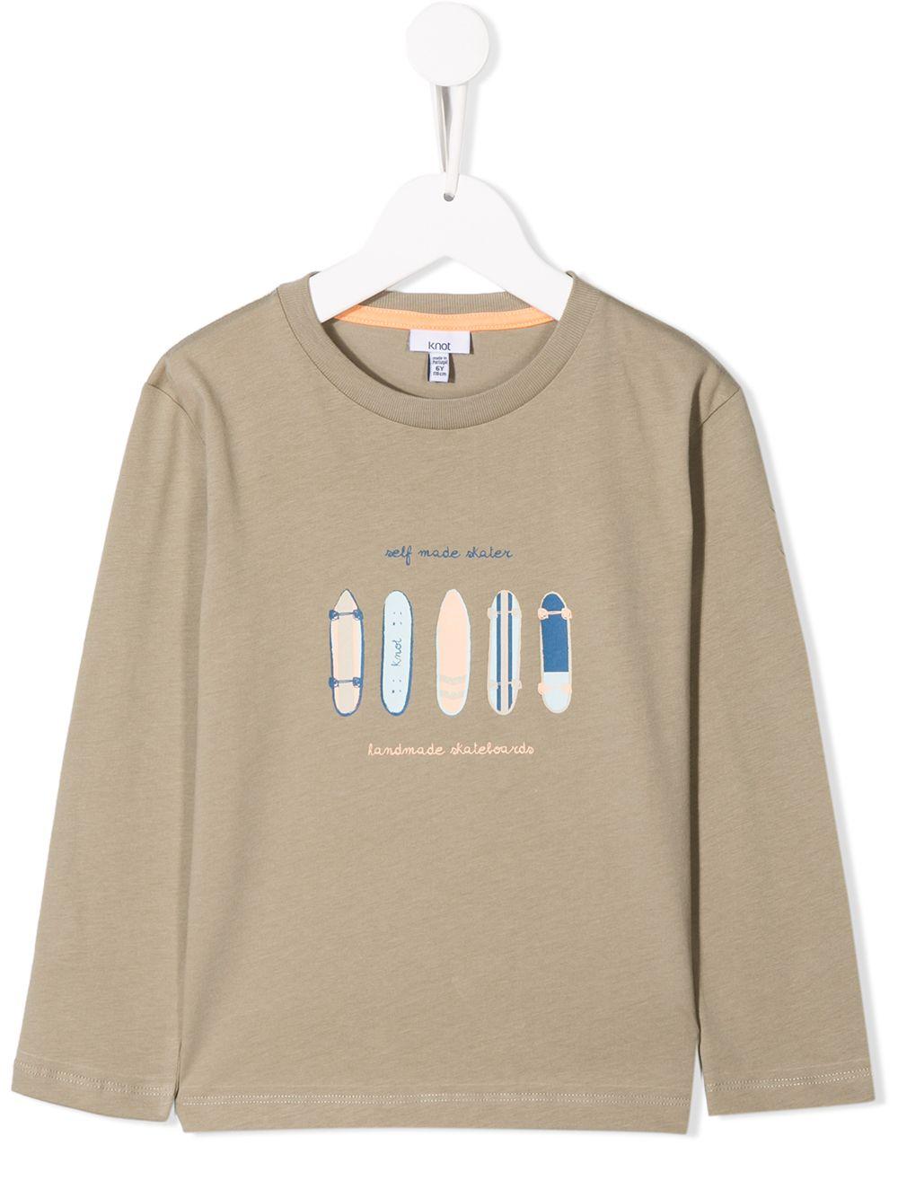 Knot | Knot футболка с длинными рукавами | Clouty