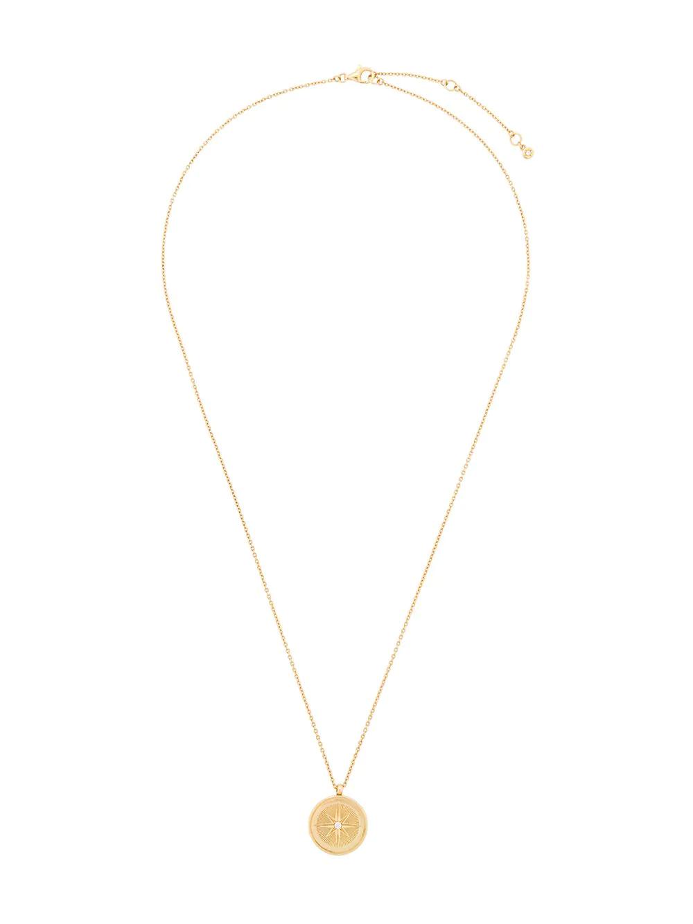 Astley Clarke | Astley Clarke колье Compass Celestial с медальоном | Clouty