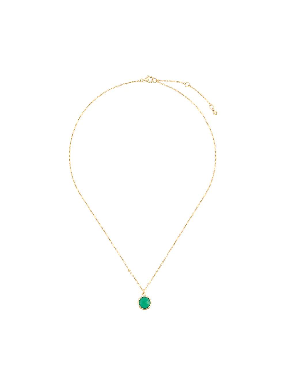 Astley Clarke | Astley Clarke колье Stilla с зеленым ониксом | Clouty