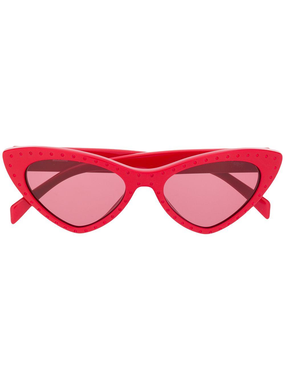 MOSCHINO | солнцезащитные очки в оправе 'кошачий глаз' | Clouty