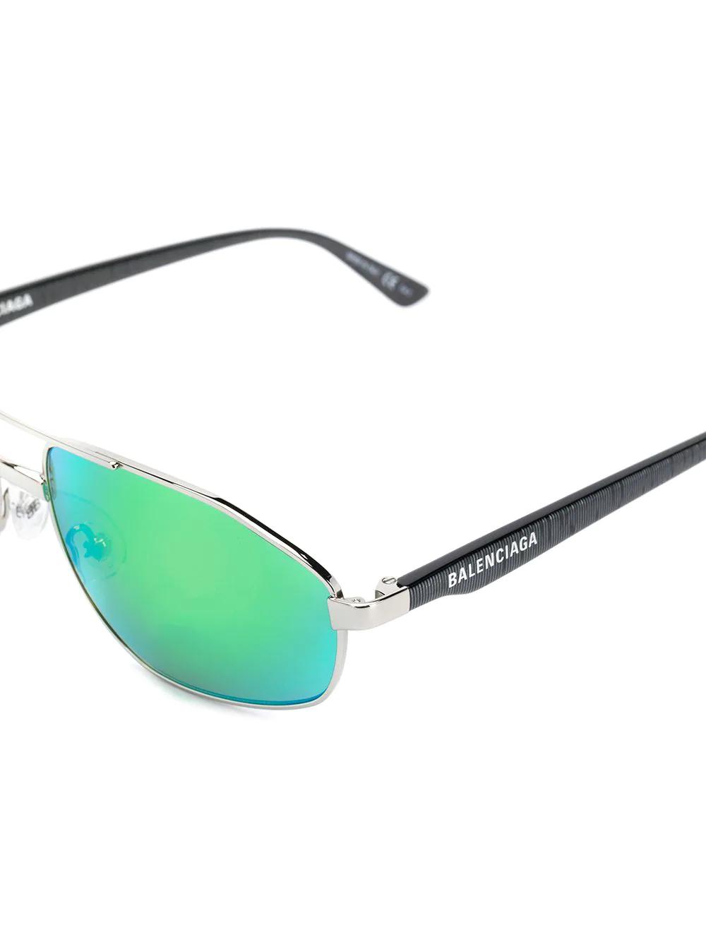 Balenciaga   солнцезащитные очки в винтажном стиле   Clouty