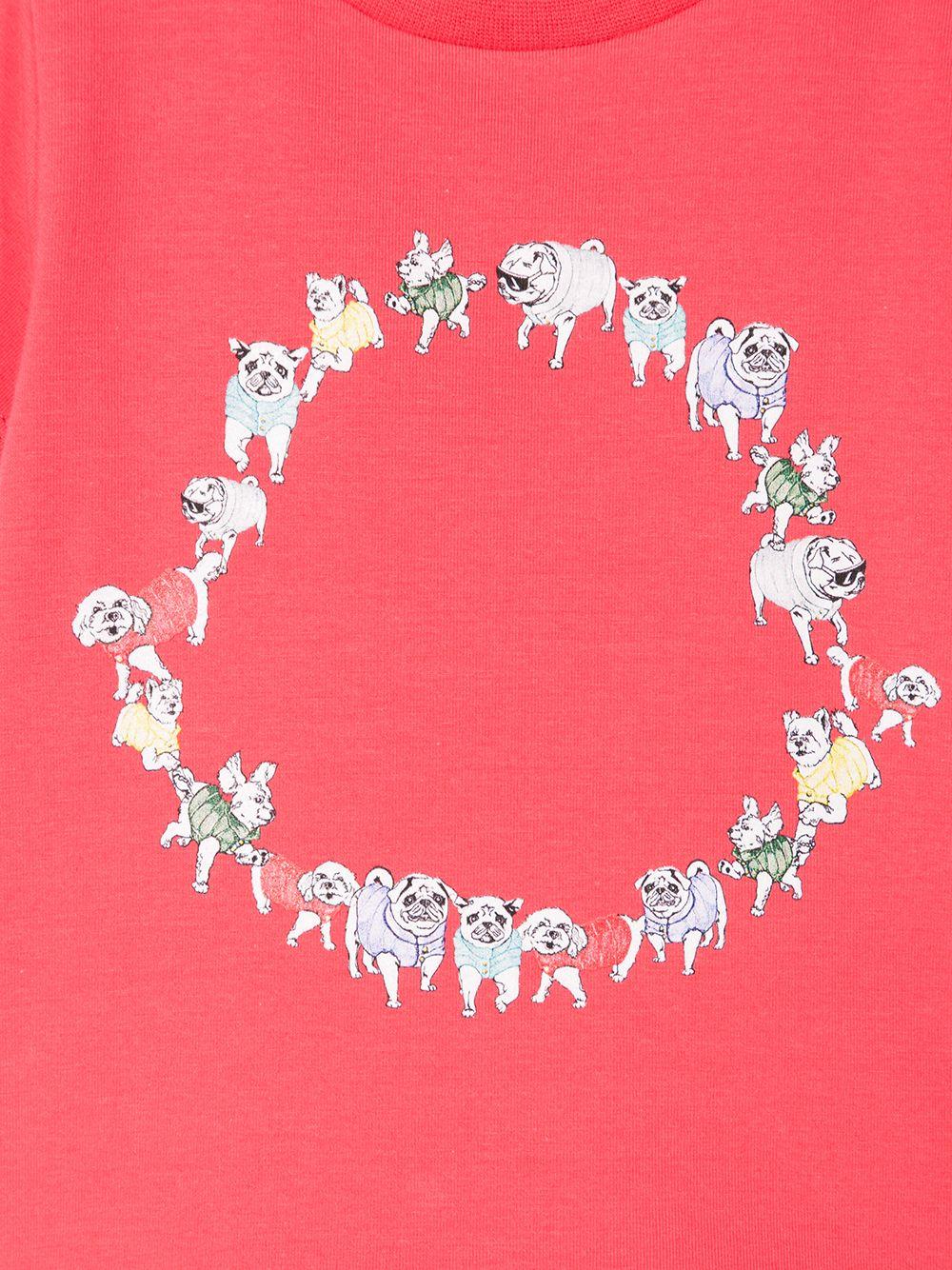 Moncler Enfant | футболка с логотипом Dog | Clouty