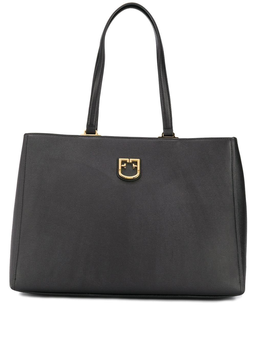 FURLA | сумка-тоут с металлическим логотипом | Clouty