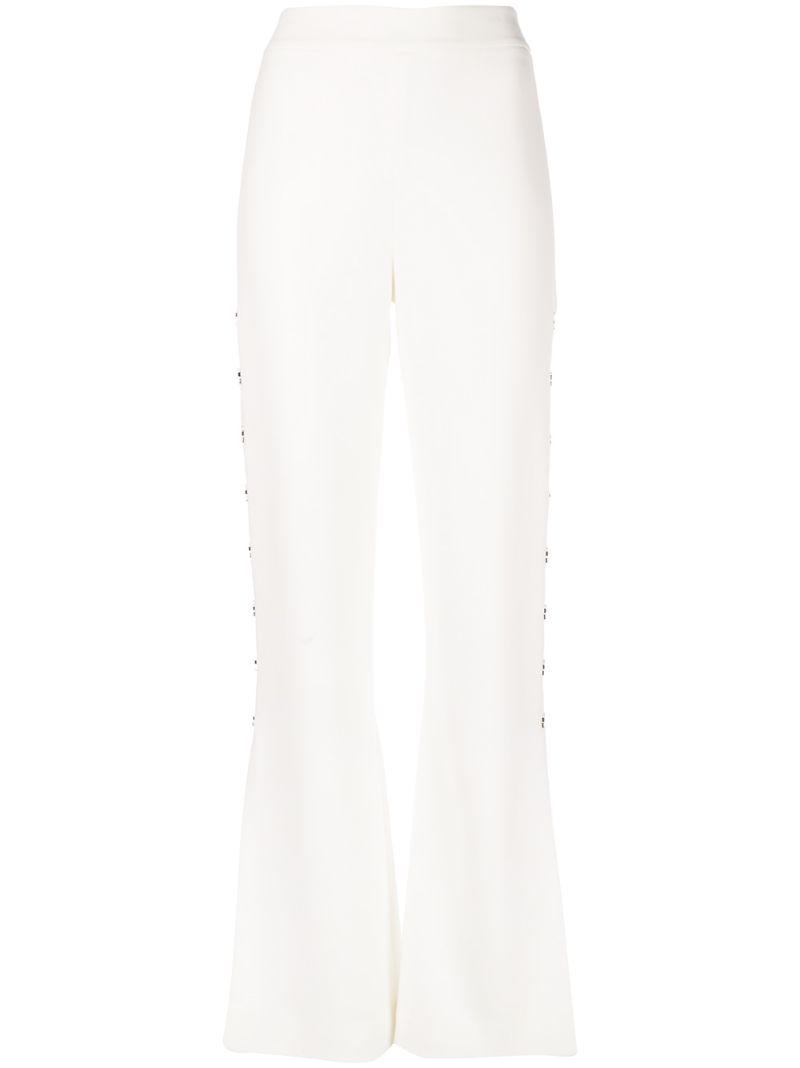 Jonathan Simkhai | брюки с завышенной талией и отделкой | Clouty